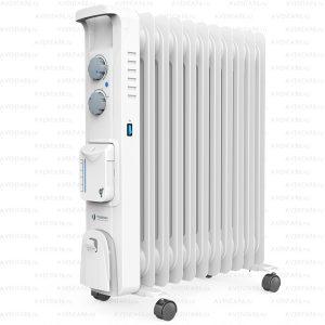 Маслонаполненный радиатор Timberk Blanco aqua TOR 51.2211 BTX